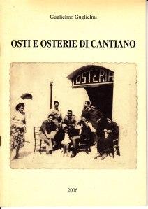 osti e osterie di cantiano ( di Guglielmo Gullo Guglielmi )